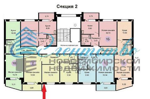 Продажа квартиры, Новосибирск, Ул. Петухова - Фото 3