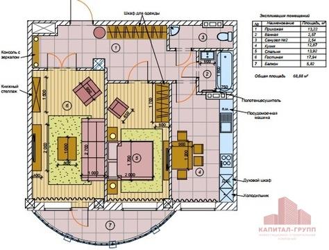 """Продам 2-комнатную квартиру в ЖК """"Версаль"""" - Фото 2"""