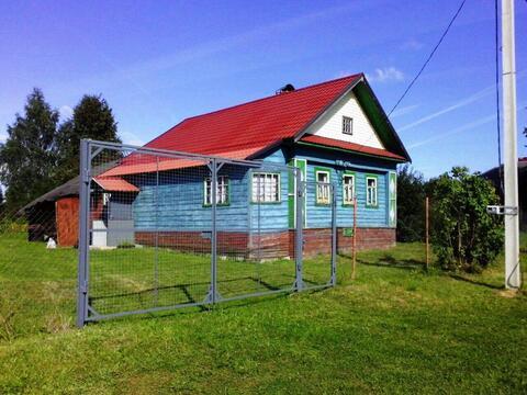 Дом 40 кв.м. на участке 16 соток в деревне Ченцы, Кашинского р-на, Тве - Фото 1