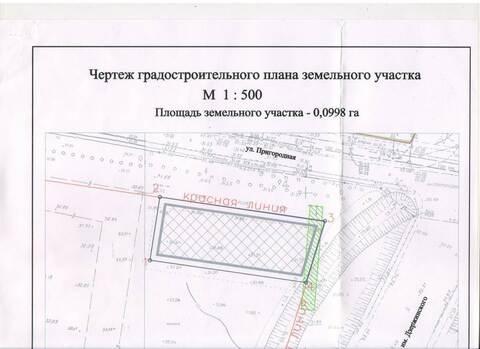 Фасадный участок 10 сот. под комм. строительство, ул. Дзержинского - Фото 2