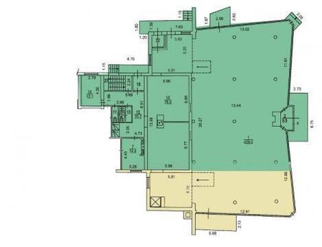 Продажа торгового помещения 1040м.на Боенском проезде2 - Фото 3