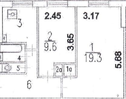 2-к Квартира, ул. Лавочкина, 14 - Фото 3