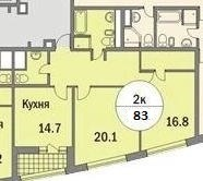 Видовая квартира Форт Кутузов - Фото 2