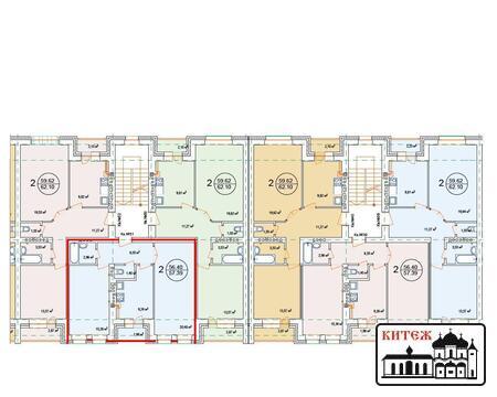Продается 2-комн.квартира в новом 4-этажном кирпичном доме с инд.отоп. - Фото 2