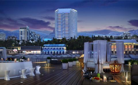 Апартаменты у моря в Сочи(luxury apartments near the sea in sochi) - Фото 1