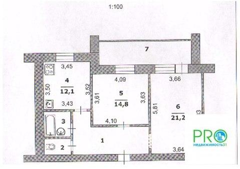 Двухкомнатная квартира с ремонтом на Чехова - Фото 3