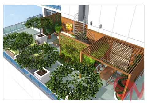 Продаются трехкомнатные апартаменты свободной планировки в новом к - Фото 3