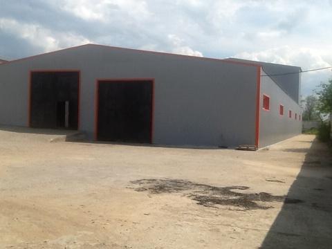 Производственно-складское здание с огороженной территорией - Фото 1