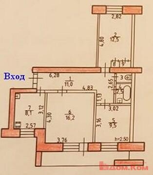 Продается 3-комнатная квартира в дос 38 в Хабаровске, Купить квартиру в Хабаровске по недорогой цене, ID объекта - 323177629 - Фото 1