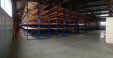 Аренда отдельностоящий теплый склад 2757 кв.М. со стеллажами - Фото 4