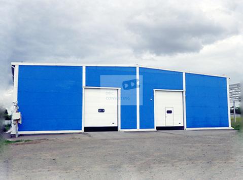Новый отапливаемый склад 1440 кв.м. в Аксайском районе - Фото 1