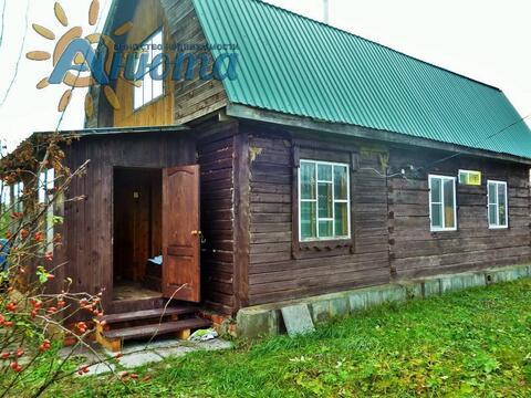 Продается дом на территории заповедника «Барсуки» Жуковского района. - Фото 1