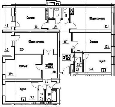 Владимир, Университетская ул, д.11, 6-комнатная квартира на продажу