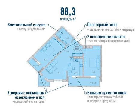 Продажа квартиры, Новороссийск, Ул. Набережная Адмирала Серебрякова - Фото 5