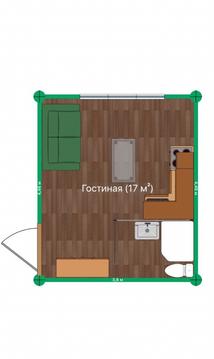 Продам комнату 17 кв.м. со своими удобствами и входной дверью. - Фото 3