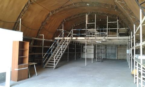 Сдается ! Теплое складское помещение 300 кв.м , Ангар пол бетон. - Фото 1