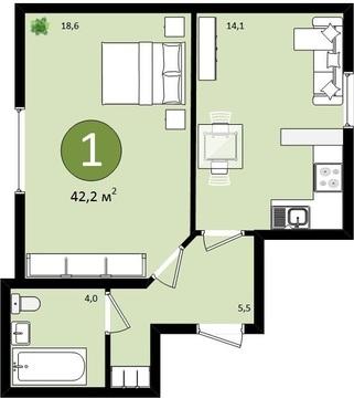Эта квартира может стать Вашей! - Фото 1