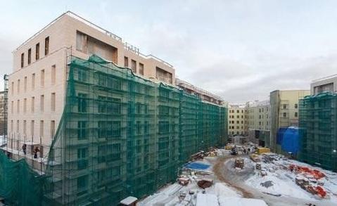 """ЖК """"Полянка,44"""", особняк Мускат, 3-х комнатная кв-ра - 115кв.м, 2 этаж - Фото 4"""