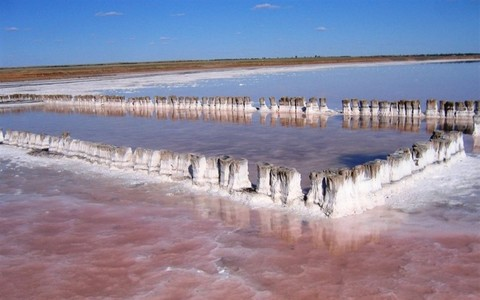 Участок 36 га на берегу соленего оз. Эльтон (аналог Мертвого моря) - Фото 2
