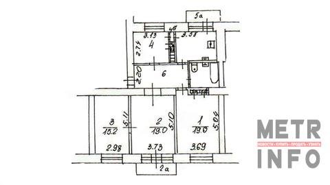 Четырёхкомнатная квартира у Метро Аэропорт - Фото 4
