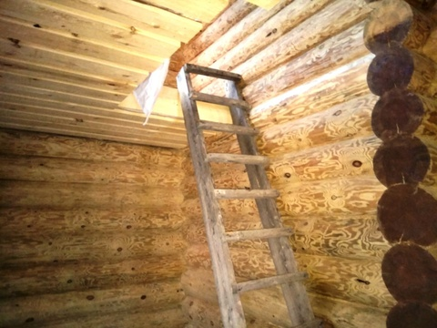 Продается 2-х этажный бревенчатый коттедж (ручная рубка) с баней - Фото 5