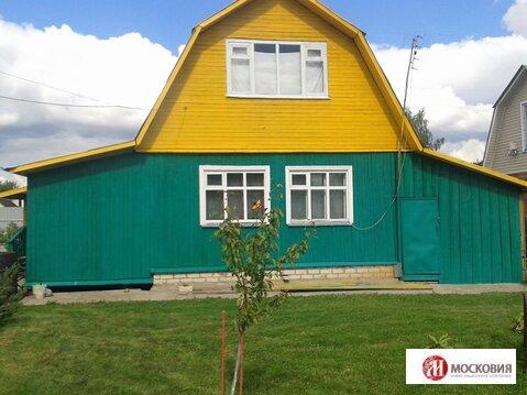 Дачный дом 50м2, на участке 6 соток, Минское шоссе, 45 км от МКАД. - Фото 1