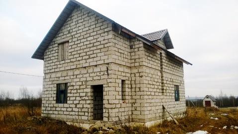 Недостроенный дом -поселок Витьба. - Фото 1