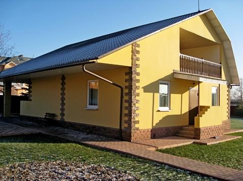 Дом на берегу пруда 200 кв.м. под ключ в стародачном поселке - Фото 2