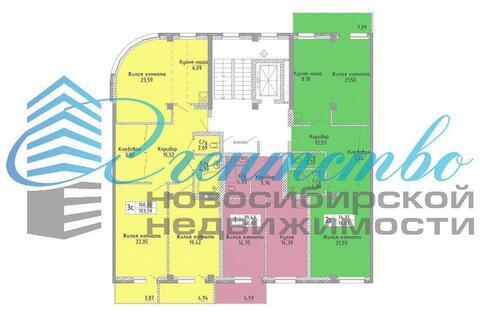 Продажа квартиры, Новосибирск, м. Маршала Покрышкина, Ул. Некрасова - Фото 2