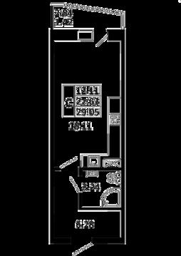 Продается квартира студия в г. Никольское , Советский 138а - Фото 4