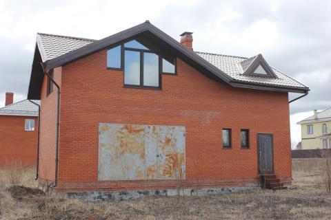 Дом из блоков обложен кирпичом, 120 кв.м. д. Пересветово. - Фото 3