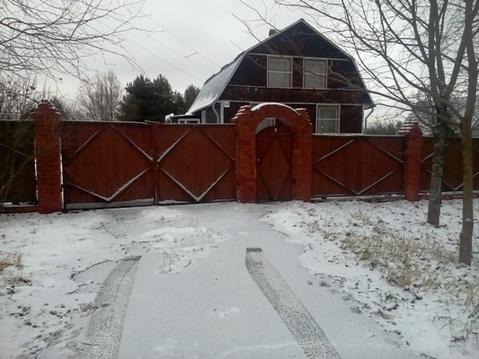 Каркасный дом на 22 сотках земли в д. Денисиха, Рузский район - Фото 1