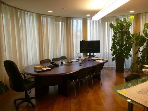 Офисное помещение 811 кв.м. около м.Краснопресненская в БЦ класса А - Фото 2
