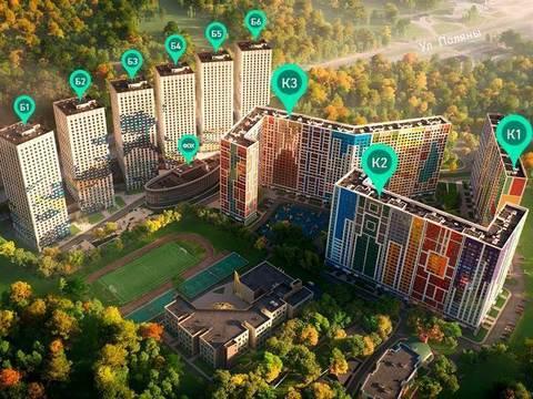 1к квартира 40,1 кв.м, рядом с метро Улица Скобелевская - Фото 3