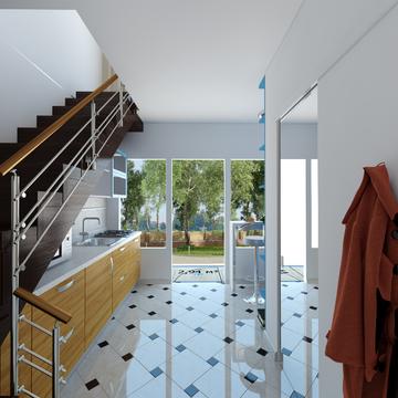 2-х уровневая студия в новом жилом доме. - Фото 1