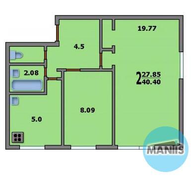 Продажа 2 комнатной квартиры на Динамо, Аэропорт, Верхняя Масловка - Фото 2