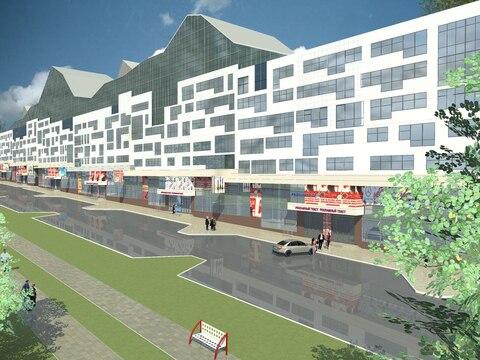 Коммерческое помещение, центр города, первая линия, новый дом - Фото 2