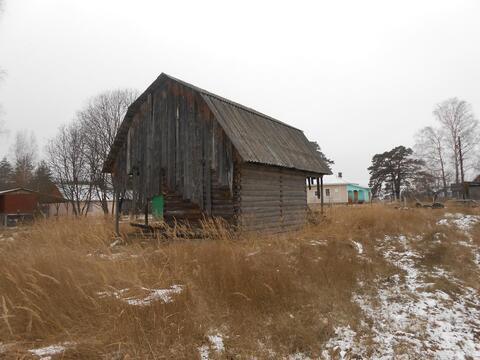 Недостроенный домик в Мещерском Парке у реки Пра. - Фото 5