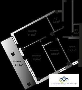 Продам трехкомнатную квартиру Комсомольский пр 37д,105 кв.м.3240т.р - Фото 4