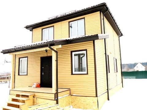 Круглогодичный дом, ИЖС. 95 кв.м. 7 соток. Голицыно. - Фото 1