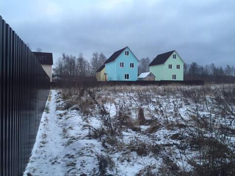 Участок 10 соток пос. Любучаны Чеховский р-н, 38 км от МКАД. - Фото 1