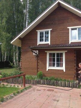 Деревянный коттедж на компанию до 15 человек в Ганусово - Фото 1