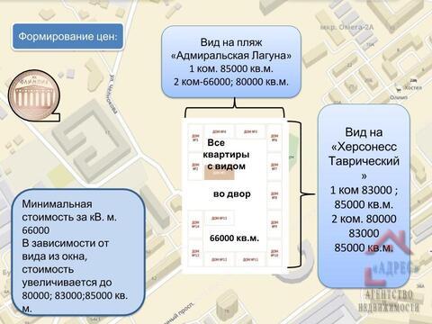 Двухкомнатная квартира премиум класса в новом доме. Севастополь - Фото 3