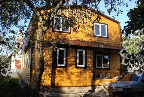 г.жуковский. новый двухэтажный коттедж в снт, площадью 130 кв. м, с отделкой под ключ,...