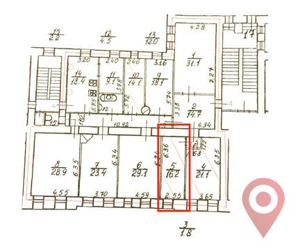 Объявление №42015644: Продаю комнату в 7 комнатной квартире. Санкт-Петербург, ул. Марата, 61,