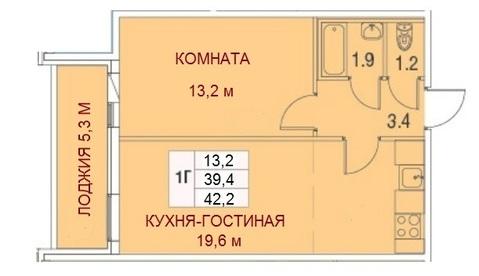 Продается евродвушка 42кв.м в новом доме - Фото 2