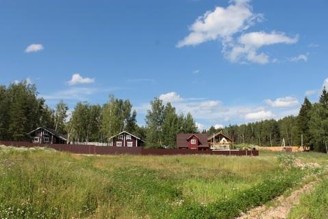 Дом из клееного бруса 120 кв. на участке 10 соток в деревне Горловка - Фото 3