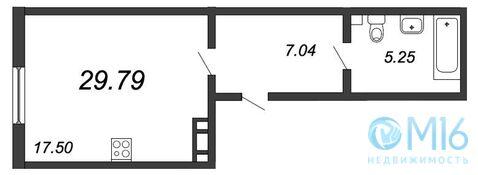 Продажа квартиры-студии, 29.79 м2 - Фото 2