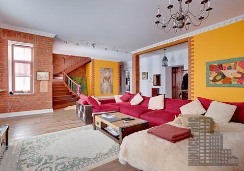 Двухуровневая квартира 280м на Сретенке - Фото 3