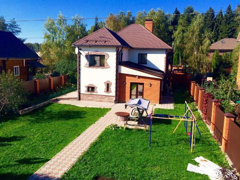 Каменный дом в д.Горловка, Одинцовский район - Фото 1